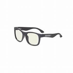 Babiators Blue Light Glasses : Black Ops Black Navigator Ages 3-5