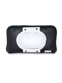 Itzy Ritzy - Black+White Wipes Case Black + White