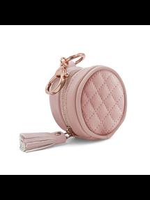 Blush Diaper Bag Charm Pod Keychain