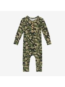 Cadet Long Sleeve Romper 12-18M