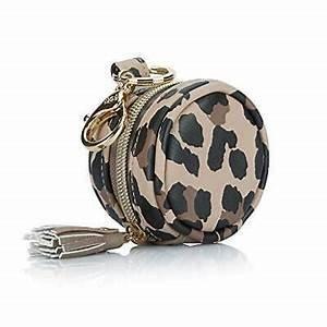 Leopard Diaper Bag Charm Pod Keychain