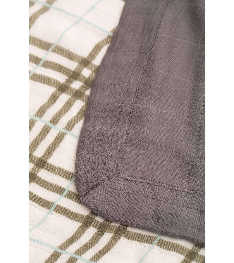 Deluxe Muslin Quilt - Plaid