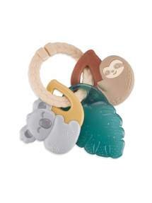 Itzy Ritzy - New Tropical Itzy Keys? Textured Ring With Teether + Rattle