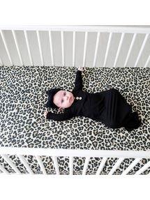 Posh Peanut Crib Sheets Lana Leopard