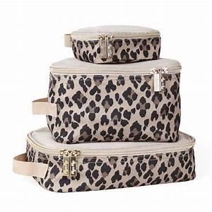 Leopard Travel Diaper Bag Packing Cubes
