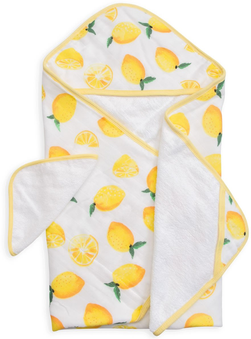 Hooded Towel Set Lemons