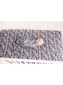 Posh Peanut Crib Sheets Miles
