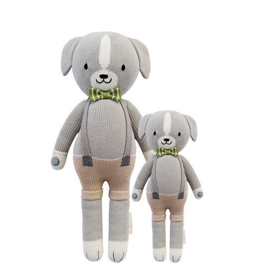 Hand-Knit Dolls-13In Noah Dog