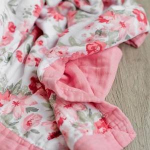4-Layer Muslin Quilt Spiced Blossom
