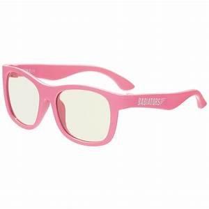 Babiators Blue Light Glasses : Think Pink! Navigator Ages 3-5