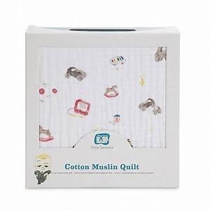 Cotton Muslin Quilt - Toy Box
