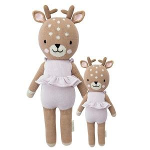 Hand-Knit Dolls-13In Violet The Fawn