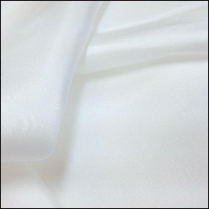 Swiss White Silk Batiste