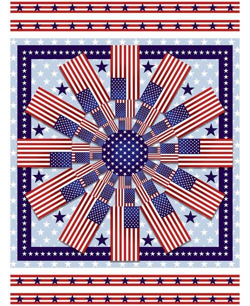 Patriotic Panel American Style