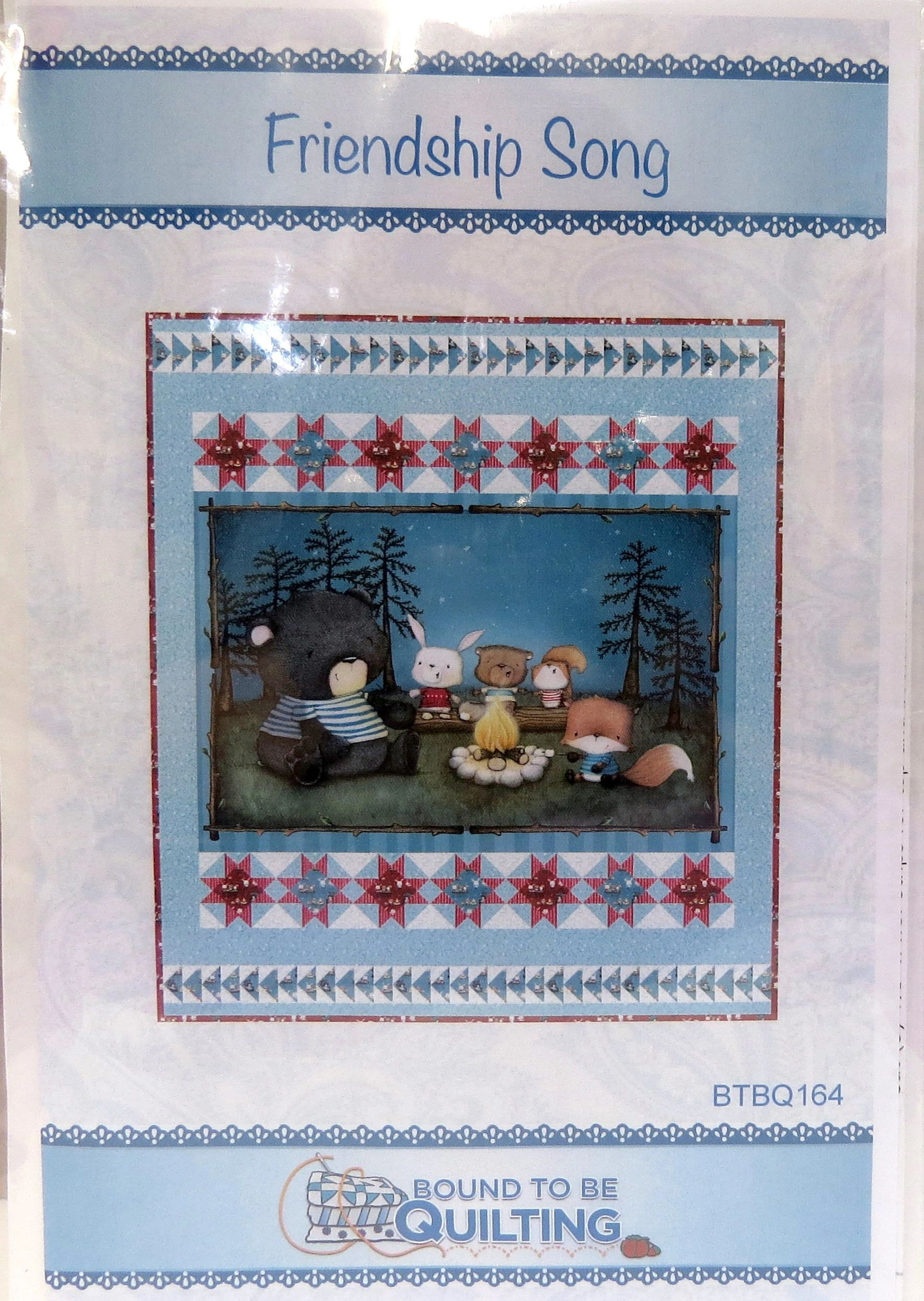 Friendship Song Quilt Kit by QT Fabrics