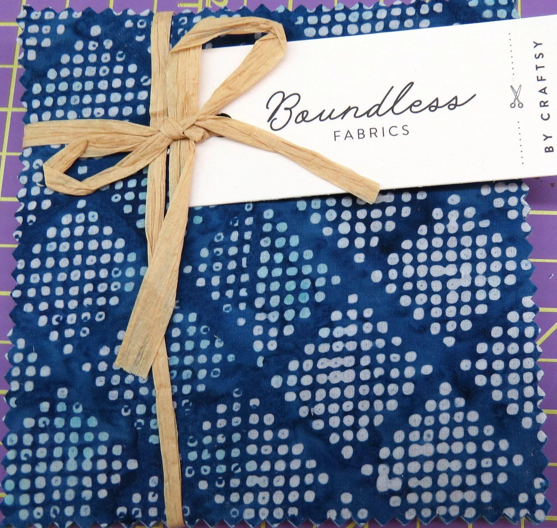5 Pre-Cut Awaken Charm Squares by Boundless Fabrics Beautiful Batiks