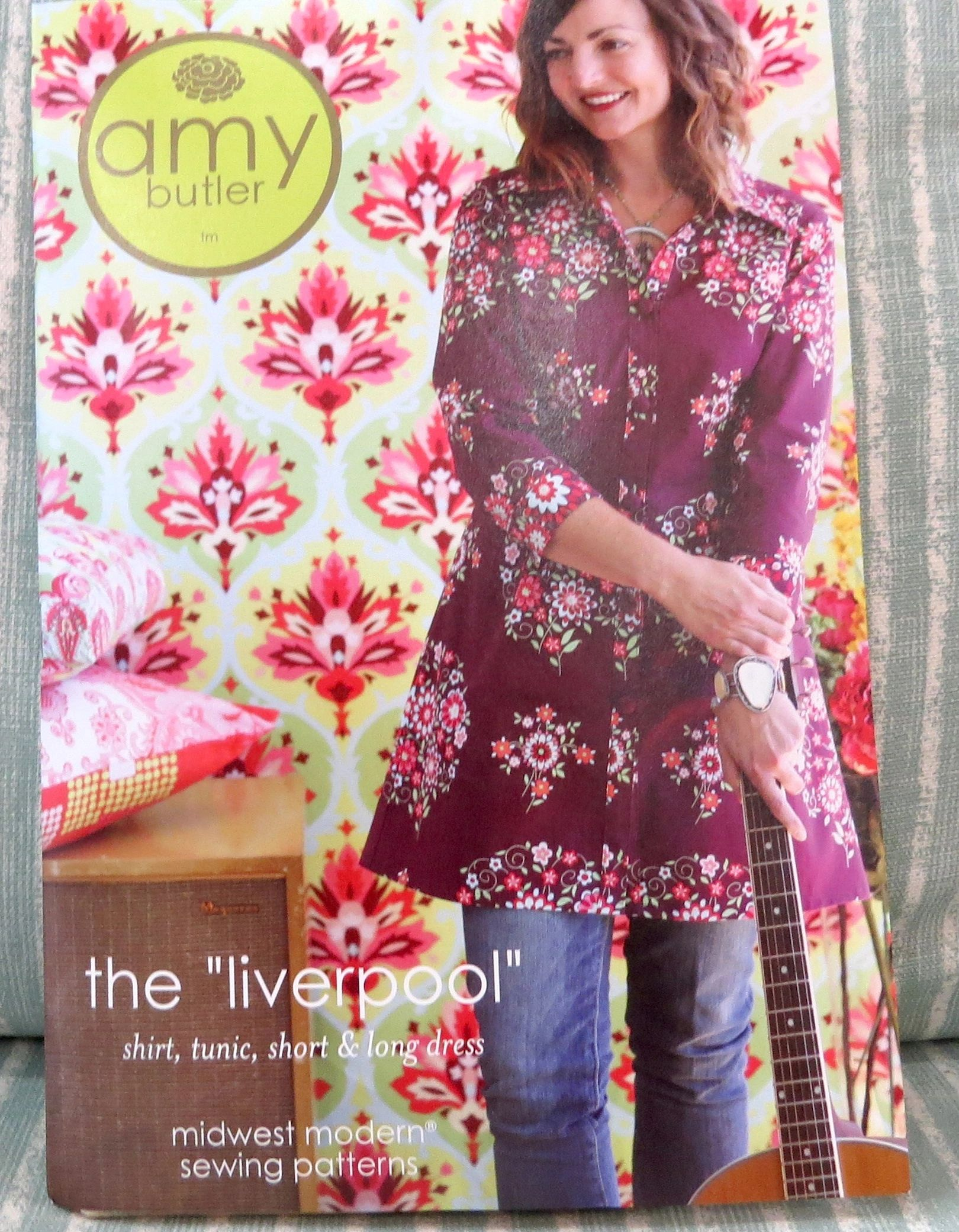 Liverpool Shirt/Tunic by Amy Butler