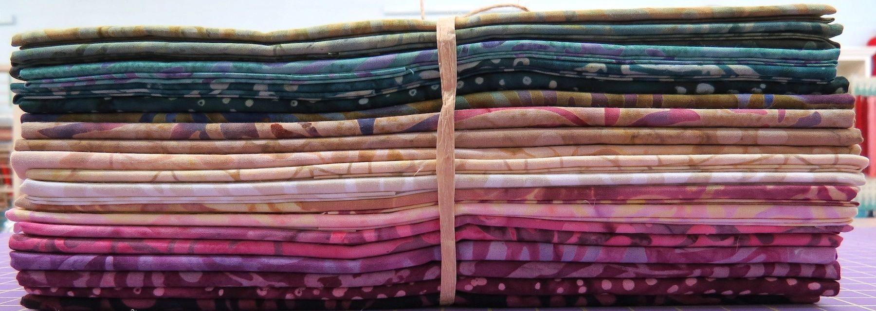 Vinyard Batiks Half Yard Cuts 20 Piece Bundle