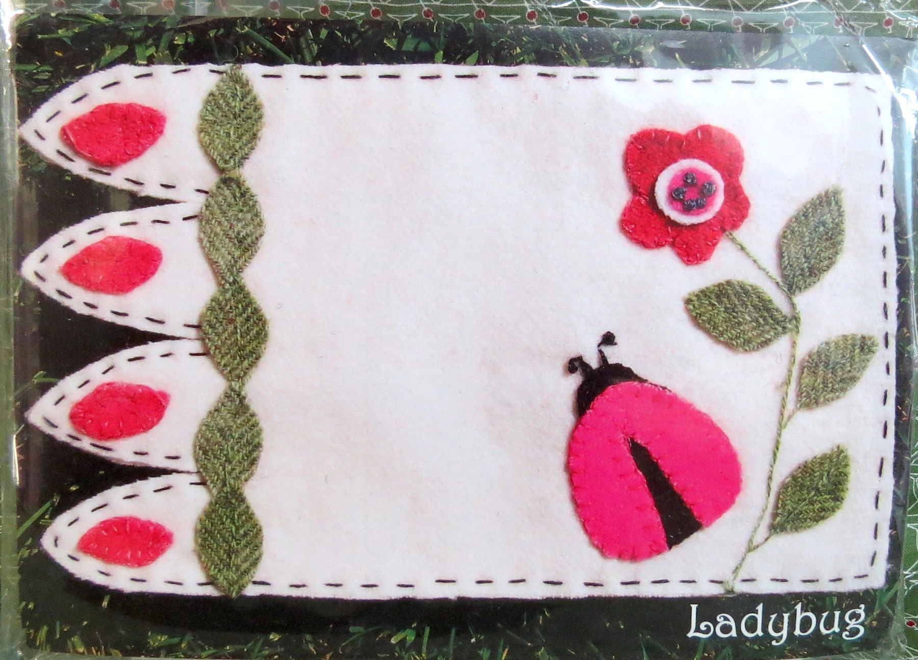 Ladybug Mug Rug Kit