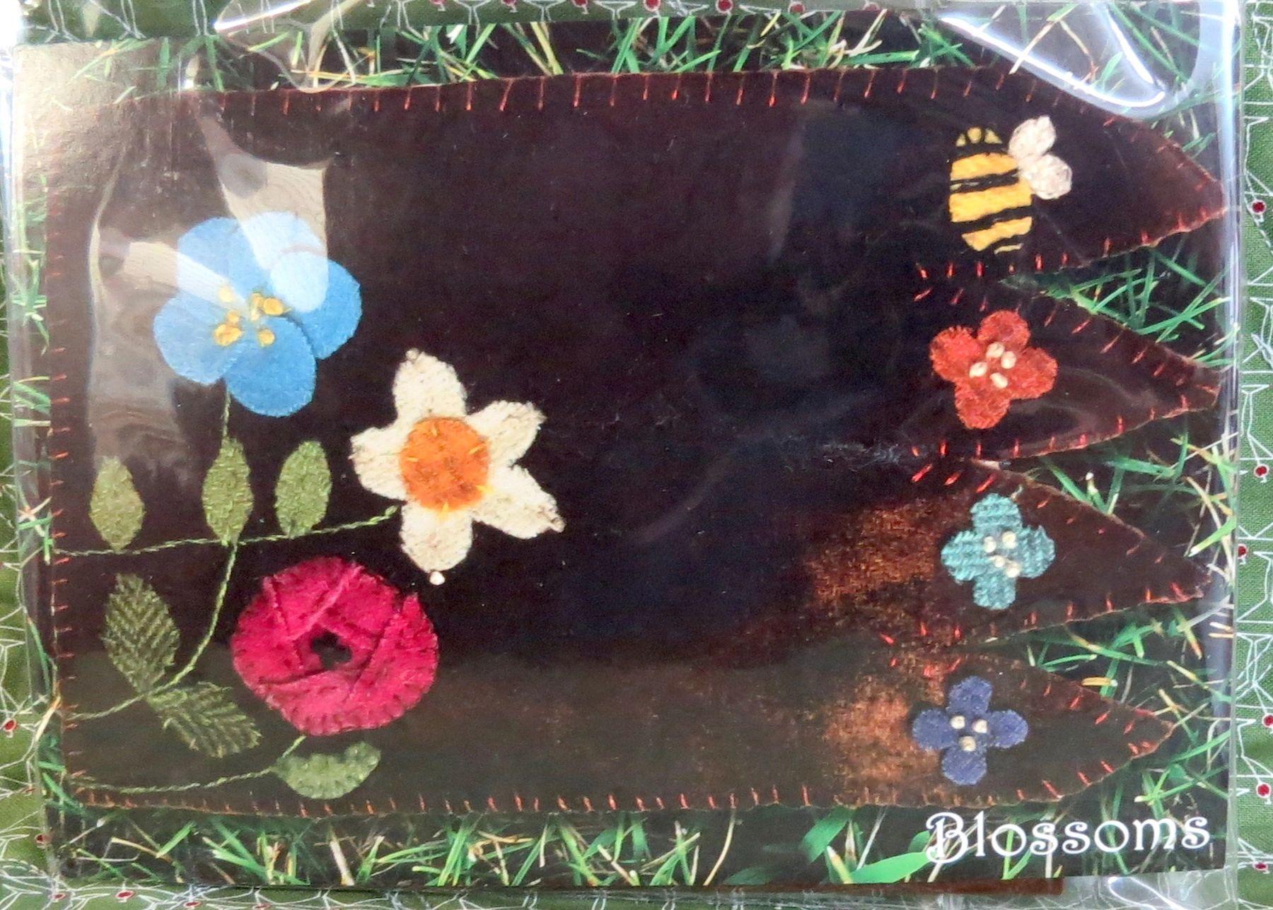 Blossoms Mug Rug Kit