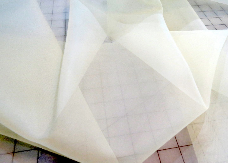 Silk Organza Cream