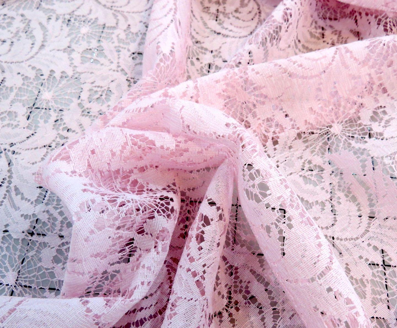 Strawberry Sherbert Nylon Lace