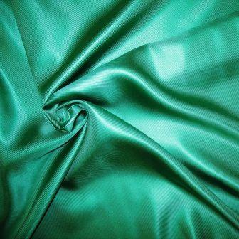 Vera Wang Emerald Green Silk Twill