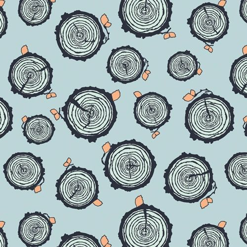 Rooted Forester from Little Forester Fusion by AGF Studio 100% Cotton