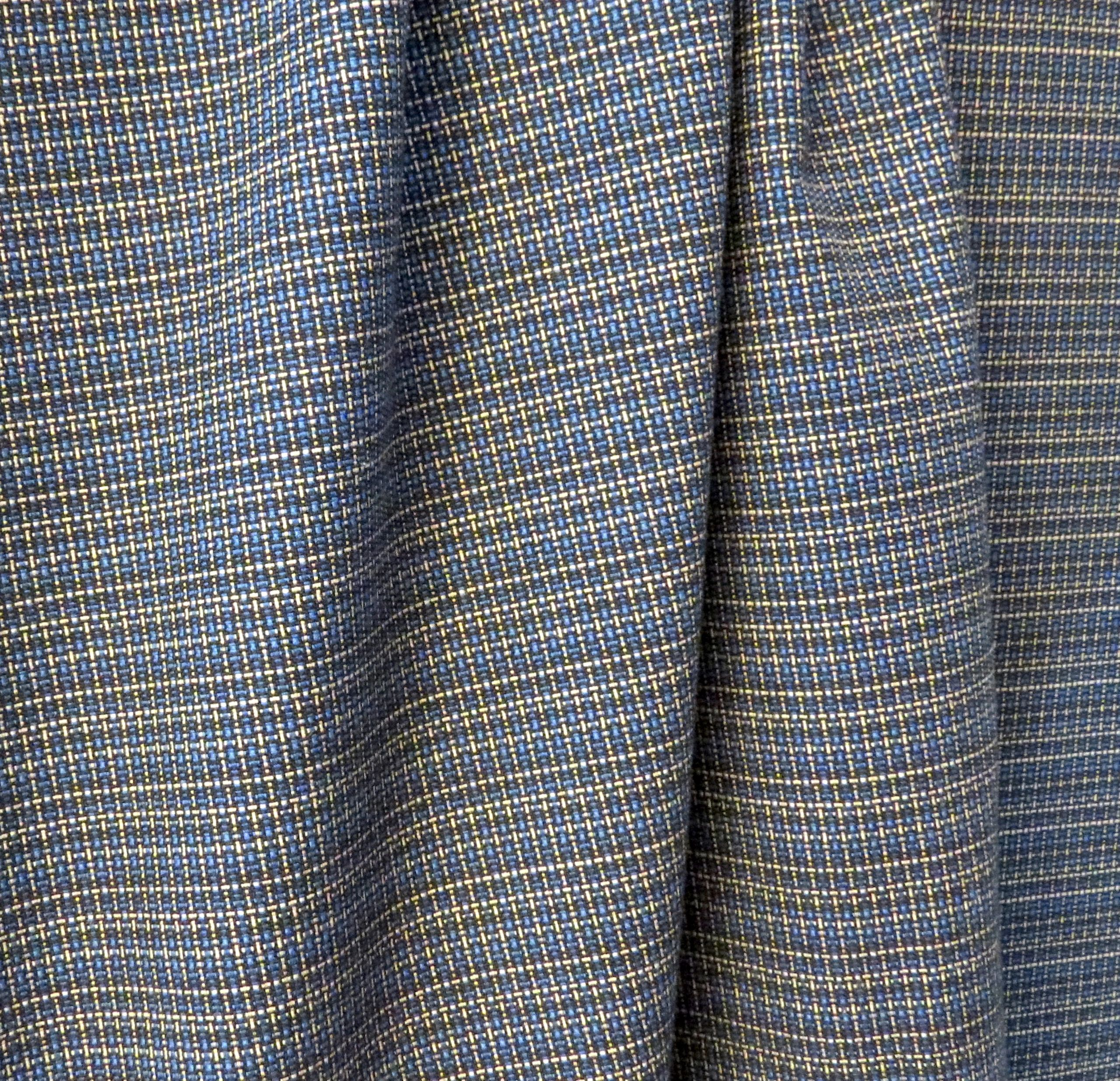 Blue Plaid Suiting by Marc Jacobs