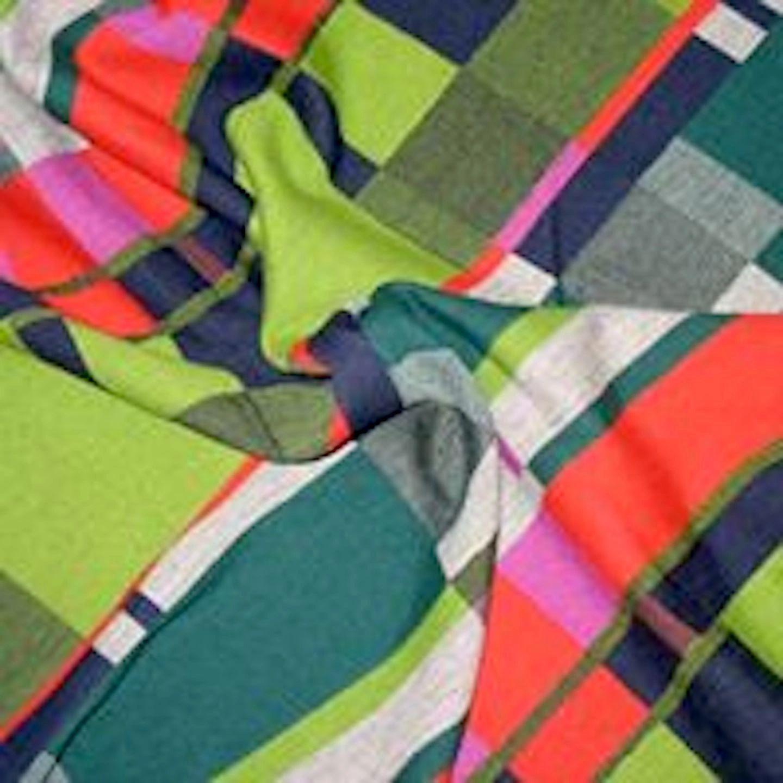 Sara Campbell Mondrian Style Wool