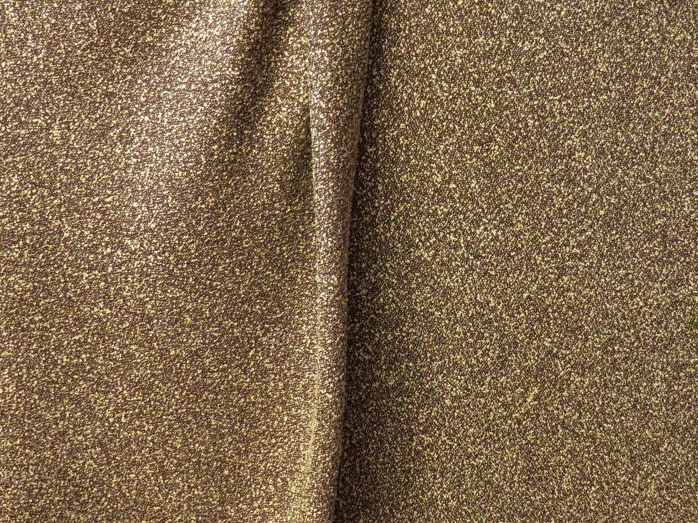 Brown and Tan Mini-Boucle Textured Suiting