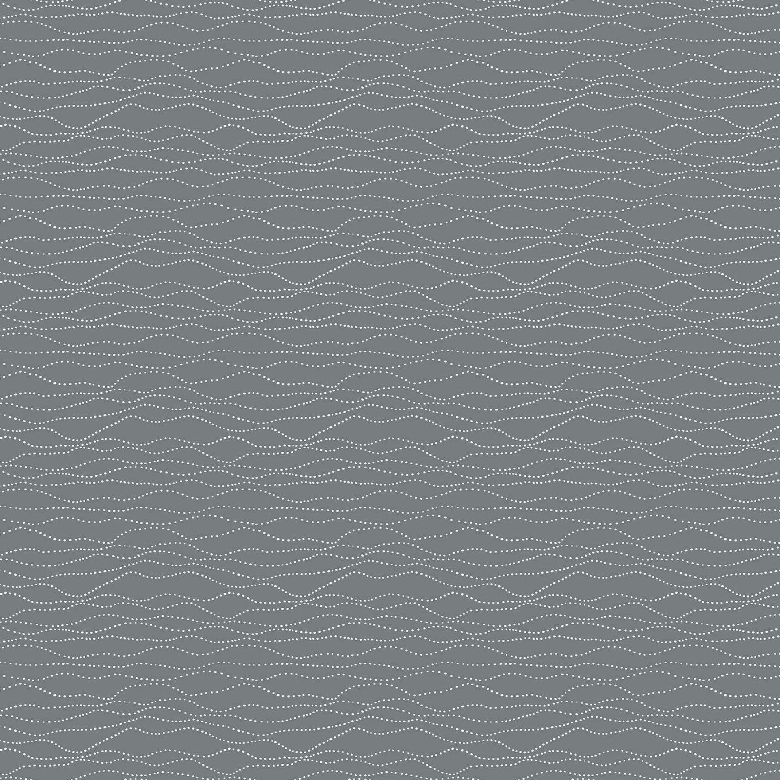 Stripe/Gray Winter Frost by FIGO Fabrics
