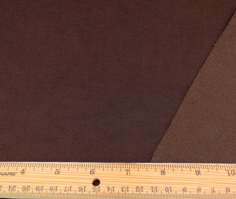 Chocolate Mini Ottoman Poly/Spandex