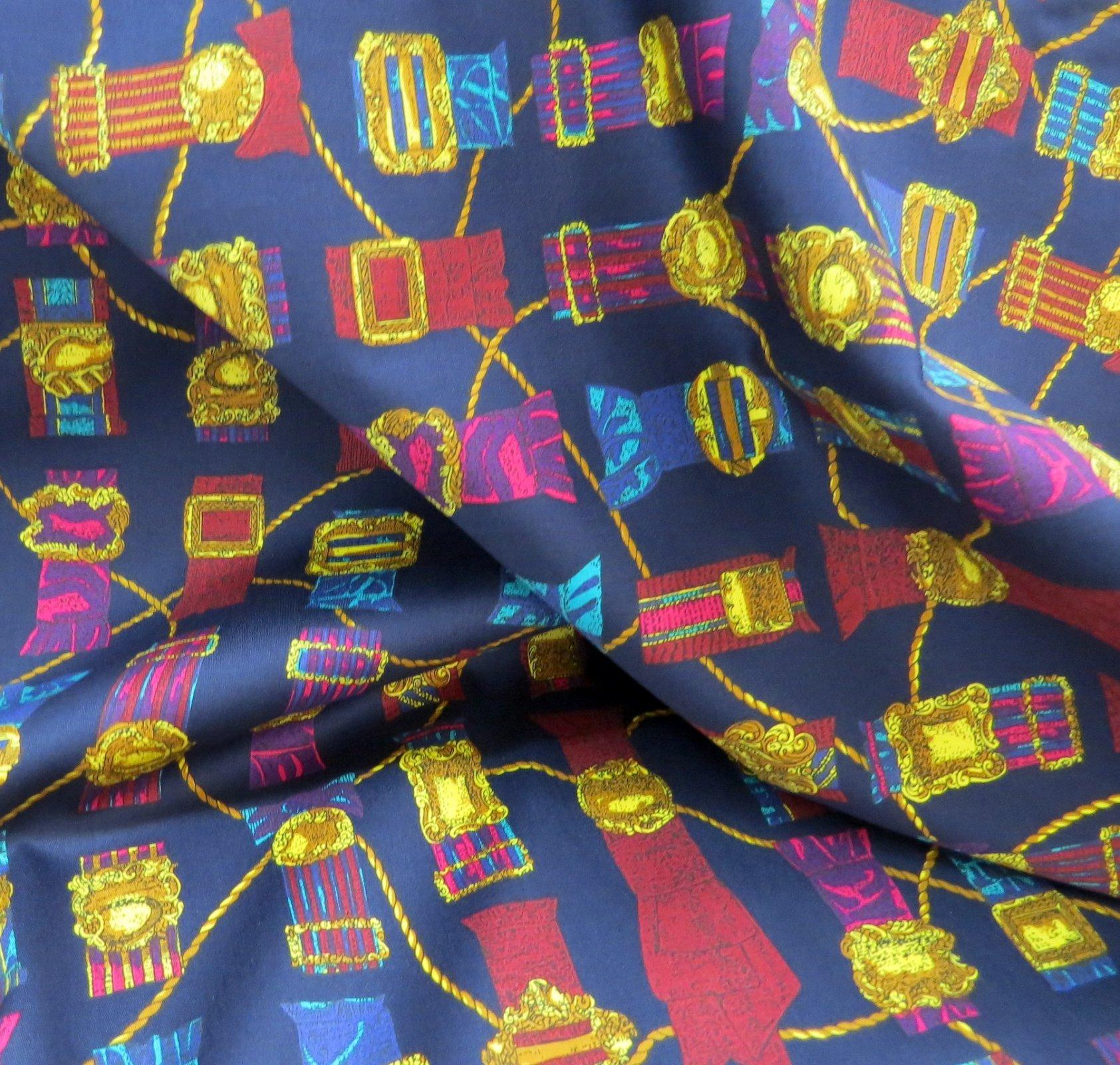 Belt Buckles Cotton Shirting