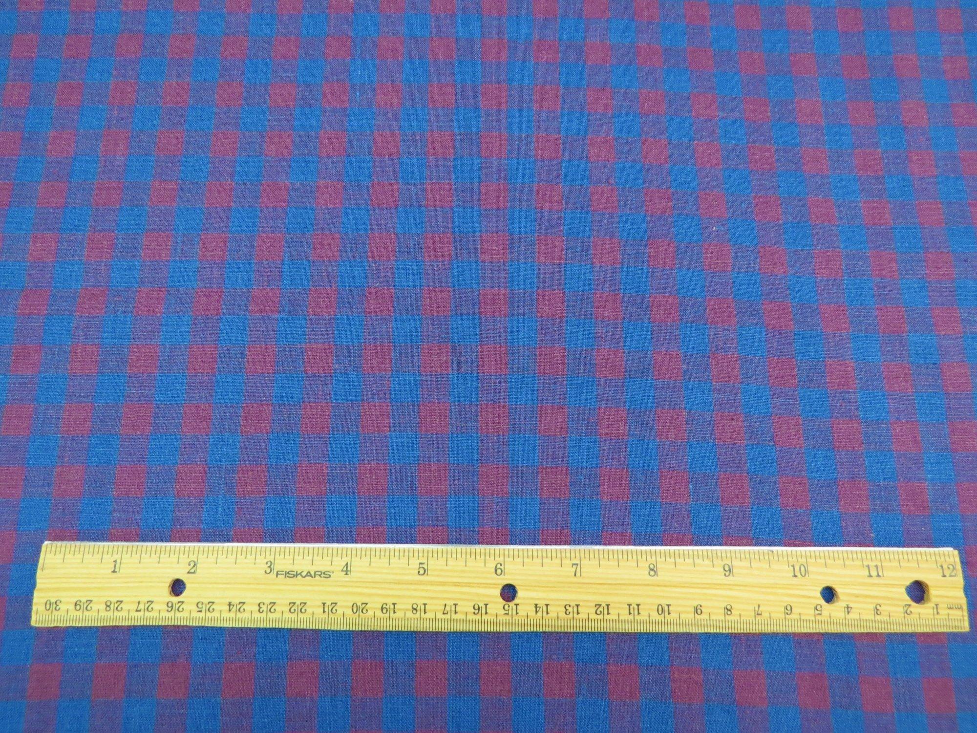 Cobalt Blue Sugar Plum European Linen