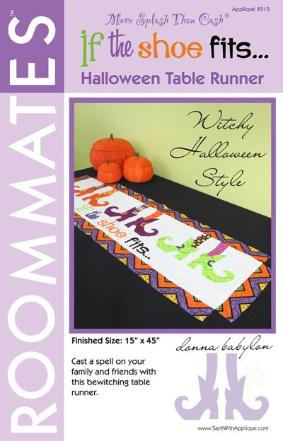 If The Shoe Fits Halloween Table Runner