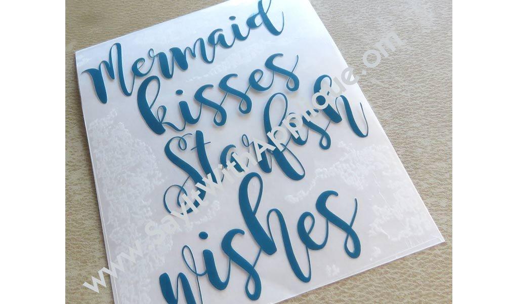 Mermaid Kisses Starfish Wishes