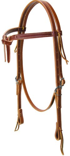 BROWBAND HEADSTALL LEATHER