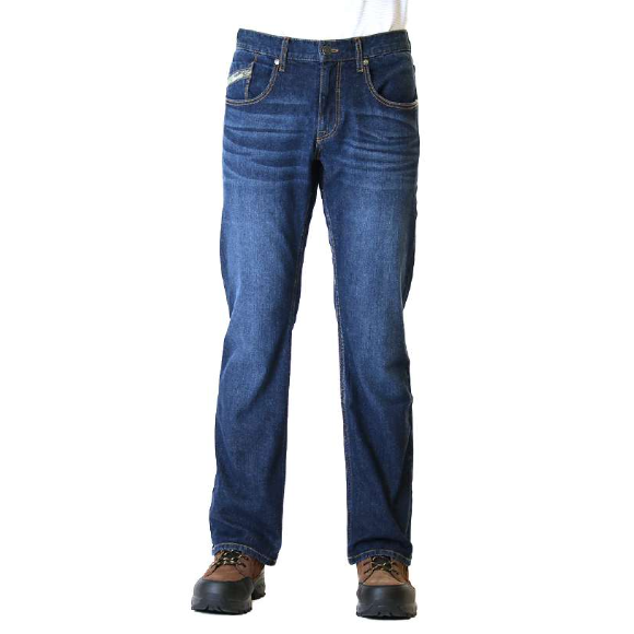 REAL TREE STRAIGHT FIT BOOTCUT JEANS