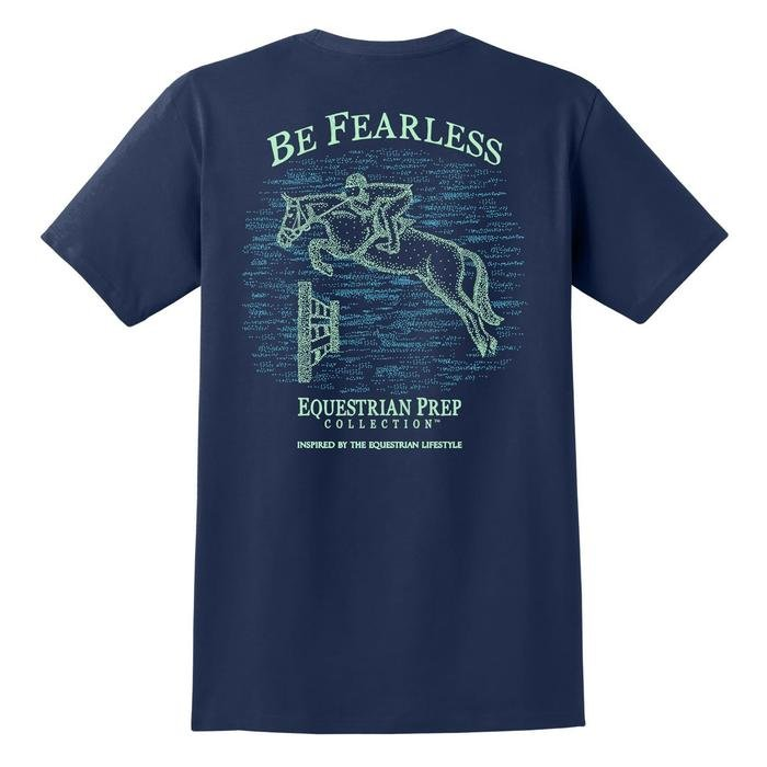 ADULT SS BE FEARLESS TEE