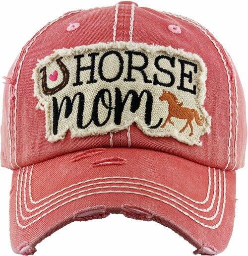 HORSE MOM CAP