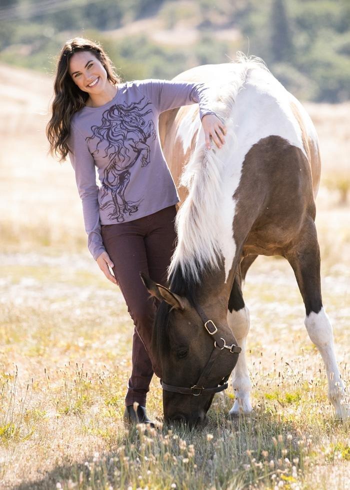 KERRITS HORSE HAVEN LS T-SHIRT