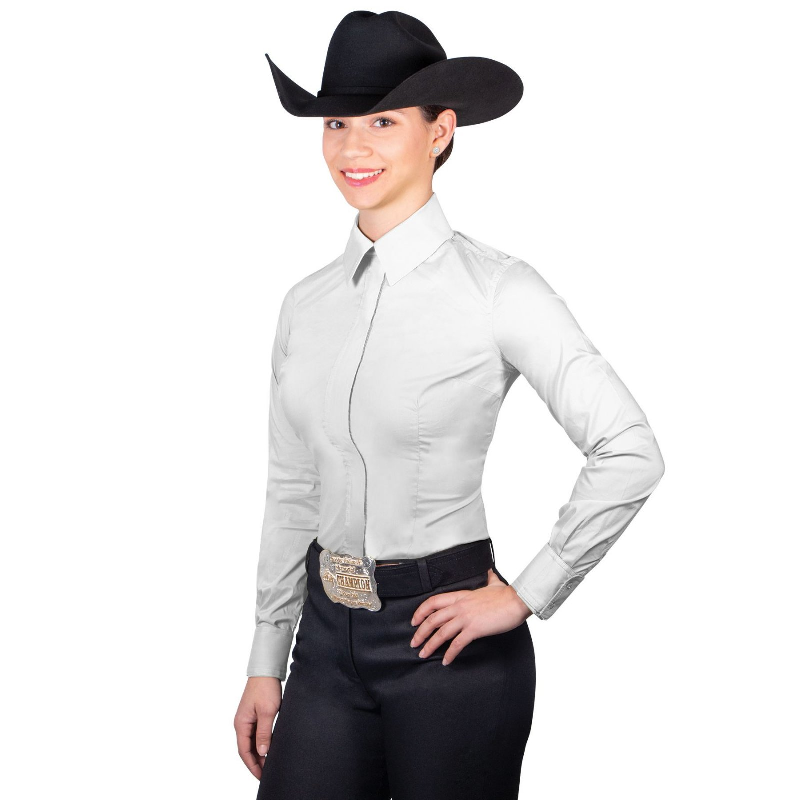 COWGIRL ROYALTY FULL ZIP STRETCH SHOW SHIRT