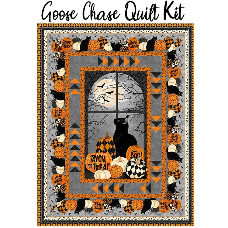 BLACK CAT CAPERS GOOSE CHASE Pattern PTN2769-10