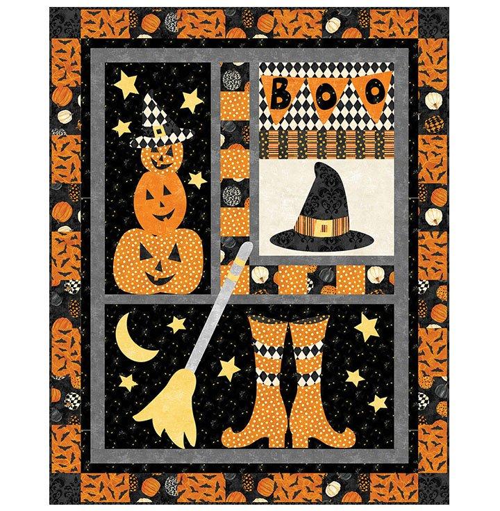BLACK CAT CAPERS HOCUS POCUS Pattern PTN2770-10