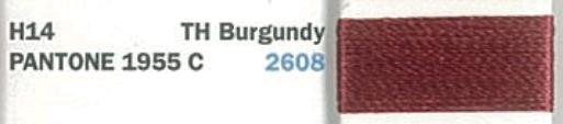 RA 122 SS RAY 2608 TH BURGUNDY