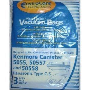 BAGS, KENMORE 5055/50558 3PK(WW-4)