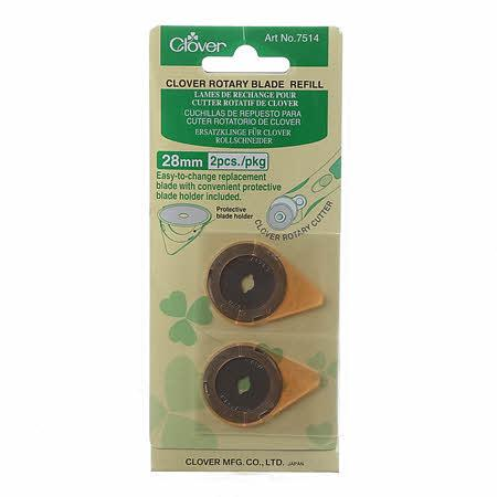 CLOVER 28MM REPLACEMENT BLADE2CT