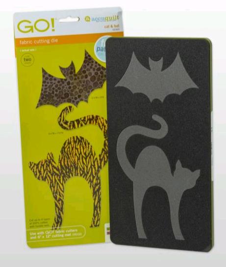 ACCUQUILT CAT AND BAT AQ55365