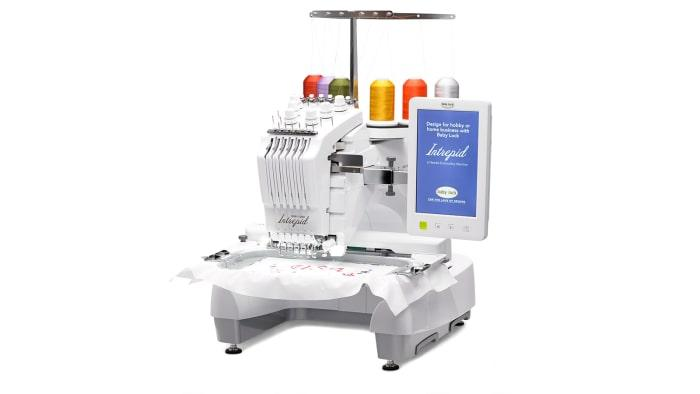 BABY LOCK INTREPID 6 NEEDLES EMBROIDERY SEWING MACHINE BMT6